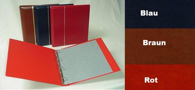 KOBRA SK Schutzkassette - Kassette Rot Für das Ringalbum Großformat G12S & G14 & S Binder - Vorschau 4