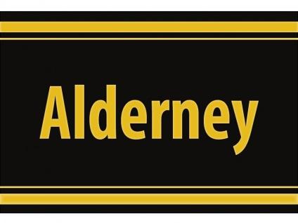 """1 x SAFE 1130 SIGNETTE Aufkleber selbstklebend Kanalinsel """" Alderney """""""