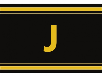 "1 x SAFE 1130 SIGNETTE Aufkleber Buchstabe selbstklebend - "" J """
