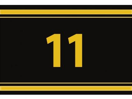 """1 x SAFE 1130 SIGNETTE Aufkleber """" 11 """" Zahlen Ziffern Bandzahlen"""