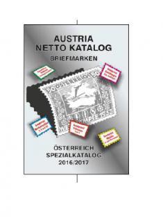 ANK AUSTRIA Netto Spezialkatalog Briefmarken Österreich 72. Auflage in Farbe 2016 / 2017