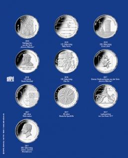 1 x SAFE 7312-1 TOPset Erganzungsblatt Münzblätter + Vordruckblatt Deutsche 20 Euromünzen 2016-2017