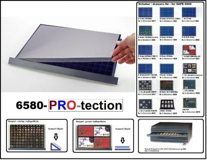 1 SAFE 6580 Schutz Abdeckung Schuber PRO Glasklar - Für alle Schuber SAFE 6500
