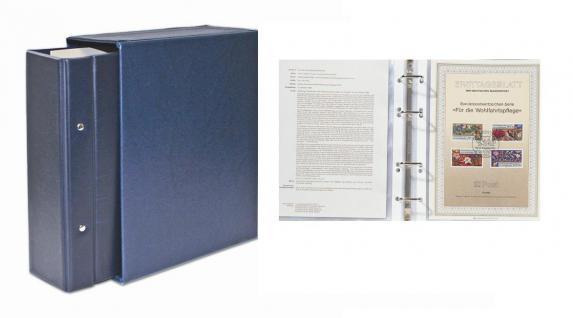 SAFE 7892 Standard Compact ETB-Album Blau mit 20 Blättern 7872 erweiterbar bis 150 ETB 's