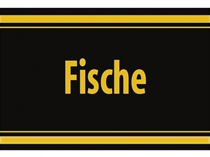 """1 x SAFE 1130 SIGNETTE Aufkleber selbstklebend """" Fische """""""