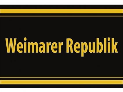 "1 x SAFE 1130 SIGNETTE Aufkleber selbstklebend "" Weimarer Republik """