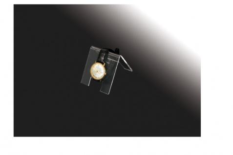 3 x SAFE 5278 ACRYL Deko Aufsteller Uhrenhalter H 90 x L 70 x T 65 mm für Uhren Damen Herren Kinder Armbanduhren Vitrinen - Vorschau 2
