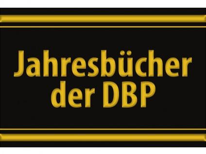 """1 x SAFE 1130 SIGNETTE Aufkleber selbstklebend """" Jahrbücher der DPB """""""