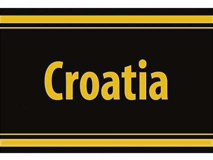 """1 x SAFE 1130 SIGNETTE Aufkleber selbstklebend Kroatien """" Croatia """""""