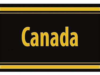 "1 x SAFE 1130 SIGNETTE Aufkleber selbstklebend Kanada "" Canada """