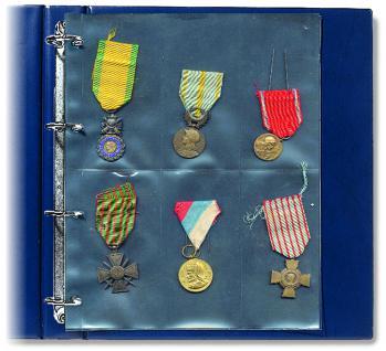 5 x SAFE 5472 Compact A4 Ergänzungsblätter Hüllen Spezialblätter Orden Ehrenzeichen Militaria