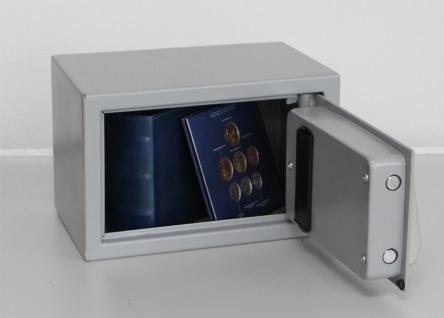 """SAFE 3990 Security Tresor """" Mini """" Möbeltresor Wandtresor Schliessfach Banksafe mit elektonischem Zahlenschloss 310x200x200 mm - Vorschau 2"""