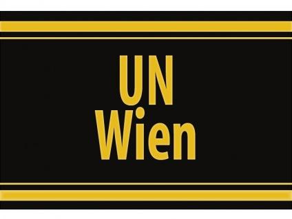 """1 x SAFE 1130 SIGNETTE Aufkleber selbstklebend """" UN Wien """""""