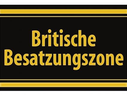 """1 x SAFE 1130 SIGNETTE Aufkleber selbstklebend """" Britische Besatzungszone """""""