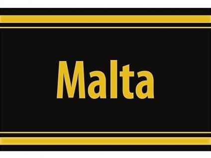 "1 x SAFE 1130 SIGNETTE Aufkleber selbstklebend "" Malta """