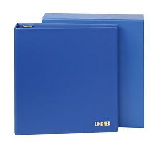 Lindner 1701 UNIPLATE Standard Schutzkassette Blau Für den Ringbinder 1700 - Vorschau 2