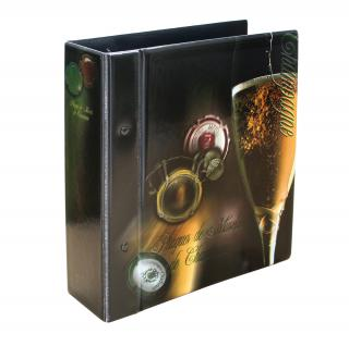 SAFE 7865 Champagner Album Sammelalbum Compact 3 Samttafeln mit Schutzhülle Für 90 Champagnerdeckel Kapseln - Vorschau 2