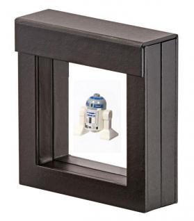 LINDNER 4830 NIMBUS 70 Sammelrahmen Schweberahmen 3D 70x70x25 mm Für Lego Mni Figuren Star Wars usw.