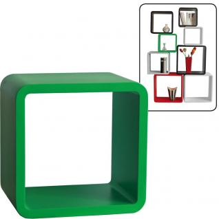 "SAFE 5324 Deko Präsentationsrahmen Würfel Cube "" Quadro Grün "" L - Large L 36 x H 36 x T 19, 5 cm Für alle Schätze von A - Z"