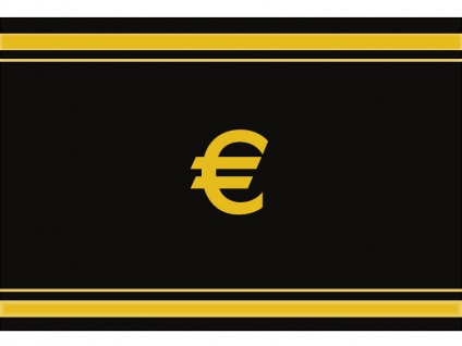 """1 x SAFE 1130 SIGNETTE Aufkleber selbstklebend Euro Zeichen Symbol """" EURO """""""