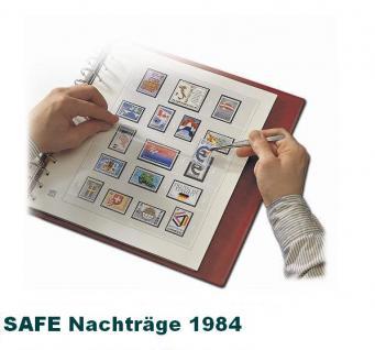 SAFE 1784 dual Nachträge - Nachtrag / Vordrucke Berlin Jahresschmuckblätter - 1984