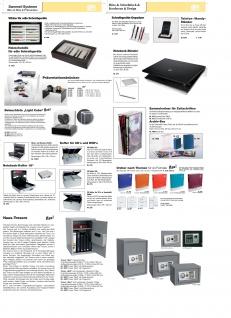 """SAFE 216 ALU Koffer """" CD XL Silver Star"""" Für 510 CD's DVD's Blue Ray Datenträger in Hängeregistern - Vorschau 3"""