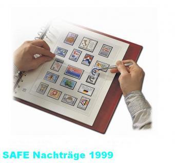 SAFE 1999 dual Nachträge - Nachtrag / Vordrucke Frankreich - France Jahresschmuckblätter - 1999