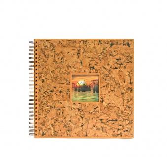 SAFE 5963 KORK Fotoalbum Hochzeitsfotoalbum Format 33x33 cm 36 schwarzen Seiten Platz für 216 Bilder - Vorschau