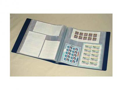 1 x KOBRA B8E Ersatztaschen Ergänzungsblätter Bogenalbum B8, B24 3 Taschen 138x197 & 107x265 mm - Vorschau 2