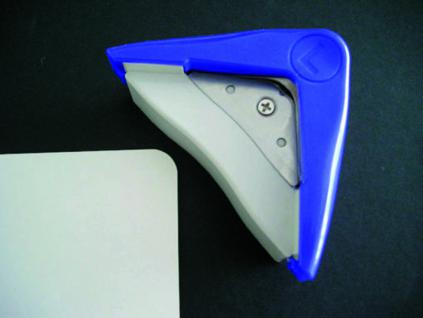 SAFE 847 Eckenrunder S 5 mm zum Abrunden von Blättern Fotos Folien Papier Pappe Laminate - Vorschau 1