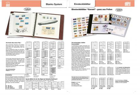 10 x SAFE 792 Karton Blankoblätter Favorit Weiss ohne jeden Vordruck - Vorschau 3