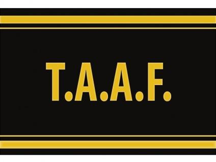 """1 x SAFE 1130 SIGNETTE Aufkleber selbstklebend """" T.AA.F """" Französische Süd u. Antarktisgebiete"""