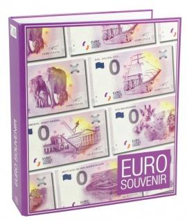 """SAFE 3100 """"0""""Euro Souvenir Banknotenalbum Sammelalbum + 5 Ergänzungsblätter 3 Taschen für 30 0 Euro Scheine Geldscheine Tourismus - Vorschau 4"""