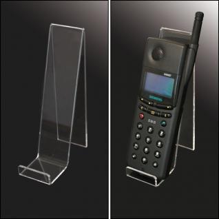3 x SAFE 5275 Acryl Objektaufsteller Telefon Handy Ständer geeignet Für alle Iphones Smartphones