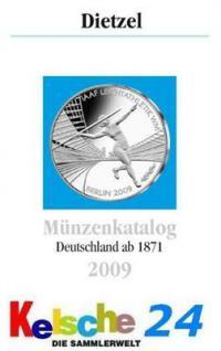 Dietzel Münzenkatalog Deutschland ab 1871 bis 2009 - Vorschau