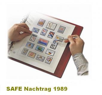 SAFE 1789 dual Nachträge - Nachtrag / Vordrucke Berlin Jahresschmuckblätter - 1989