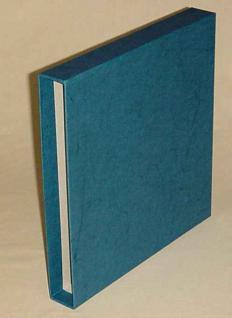 KOBRA B5K Blau Schutzkassette - Kassette Für das Bogenalbum B5 und Zehnerbogenalbum B8 - Vorschau 1