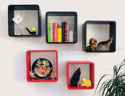 """SAFE 5326 Set Design Deko Präsentationsrahmen Würfel Cube Vintage Regal """" Quadro Weiss """" S M L XL - L 26 - 31 - 36 - 41 cm x B 26 - 31 - 36 - 41 cm x T 19, 5 cm - Vorschau 4"""