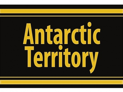 "1 x SAFE 1130 SIGNETTE Aufkleber selbstklebend Antartische Territorium "" Antarctic Territory """