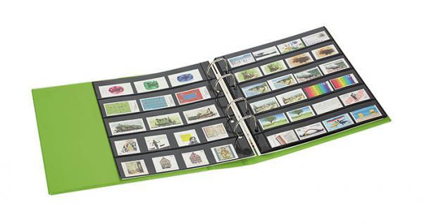 Lindner S3540b-1 Berry Multi Collect Ringbinder Publica M Color + Je 5 Blätter Mu1315 & Mu1316 Für Briefmarken - Vorschau 4