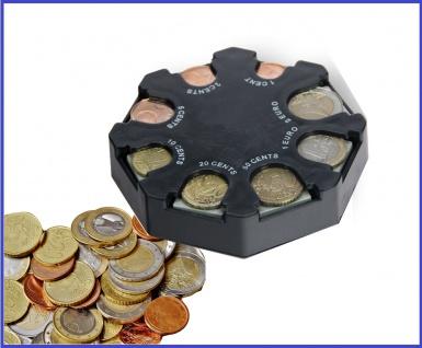 SAFE 7909 Münzwechsler Geldwechsler Euro Münzzähler Eurospender Eurowechsler
