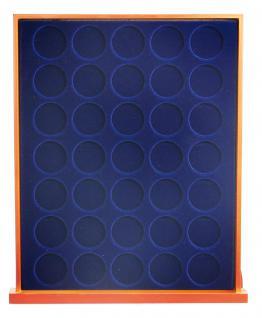 SAFE 6826 Nova Exquisite Holz Münzboxen Schubladenelement 35 Runde Fächer x 26 mm Ideal für 2 EURO - Vorschau 2