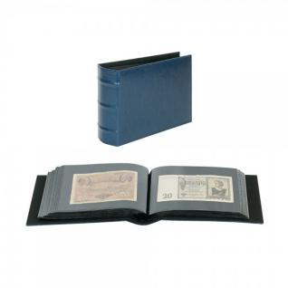 LINDNER 812-B Firmo Universal Album Sammelalbum Blau 190 x 130 mm Für 108 Briefe FDC Postkarten Ansichtskarten Banknoten Geldscheine