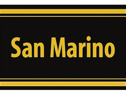 "1 x SAFE 1130 SIGNETTE Aufkleber selbstklebend "" San Marino """