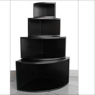 """SAFE 5341 Deko Präsentations Eck-Boards """" Syno Schwarz """" S - Small L 20 x H 20 x T 15 cm - Für alle Ihre Schätze von A - Z - Vorschau 2"""