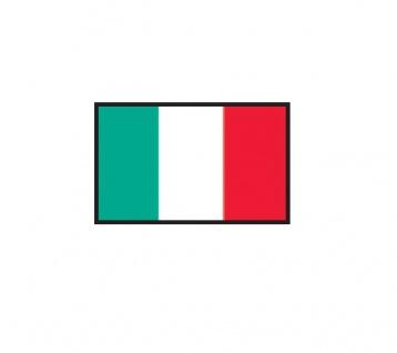 1 x SAFE 1175 SIGNETTE Flagge Italien - Italia - Italy Aufkleber Kennzeichnungshilfe - selbstklebend