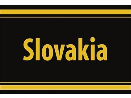"""1 x SAFE 1130 SIGNETTE Aufkleber selbstklebend """" Slovakia """" Slowakei"""