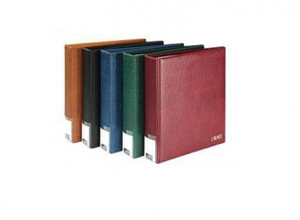 10 x LINDNER 4108 Einsteckhüllen Ergänzungsblätter Publica L A4 8 Taschen / Streifen schwarz 33 x 220 mm Für Briefmarken - Vorschau 5