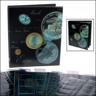 SAFE 7811 ARTline MÜNZALBUM Münzalbum MIXED mit 4 Münzhüllen für 134 Münzen