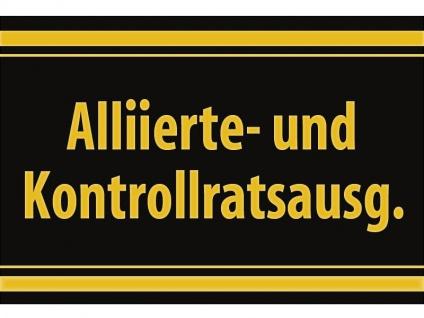 """1 x SAFE 1130 SIGNETTE Aufkleber selbstklebend Kanalinsel """" Alliierte und Kontrollausgaben """""""